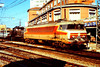"CC 6530 ""Cahors"" & CC 1103 are seen at Toulouse depot on 6th March 1989; this is a view from the station platform."
