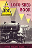 1950 Pt.3, Loco-Shed Book - London Midland Region, published December 1950, 48pp 1/-, no code. No photos inside. A N Wolstenholme drawing of an Ivatt 43xxx 2-6-0 on the cover. These first Locoshed books were officially named 'ABC Supplements Pts. 1-4'. All four 1950 Locosheds were included with the reissued 1948 Combined Volume in 1972, reprinted 1973/75/76, and reissued again in 2000 (see Section 012).