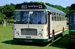 Southern Vectis 863 (Bristol RE TDL 563K). Netley Bus Rally, 8th June 2008.