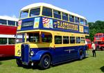 Eastbourne Corporation 42 (AEC Regent AHC 442). Netley Bus Rally, 8th June 2008.