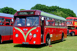 Oxford 756 (756 KFC). Netley Bus Rally, 8th June 2008.