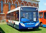 Stagecoach 39652 (GX08 HBO). Netley Bus Rally, 8th June 2008.