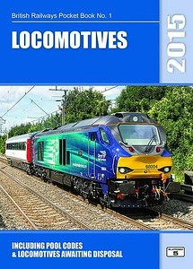 2015 Locomotives, 57th edition, by Robert Pritchard & Peter Hall, published November 1st 2014, 96pp £5.10, ISBN 1-909431-12-5. Cover photo of 68004.