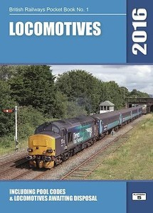 2016 Locomotives, 58th edition, by Robert Pritchard, published October 2015, 96pp £5.20, ISBN 1-909431-19-2. Cover photo of a DRS Class 37.
