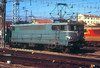 BB 9284 is seen in the depot yard at Toulouse; the depot is adjacent to the station platforms at Toulouse Matabiau, and  40 locoss could be identified from here. 6th March 1989.