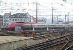 Thalys 4341 at Brussel Zuid, 12th November 2012.